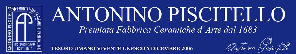 Ceramiche Siciliane | Piscitello Antonino | Ceramica Artistica Siciliana | Ceramiche Artistiche | Ceramiche Santo Stefano di Camastra