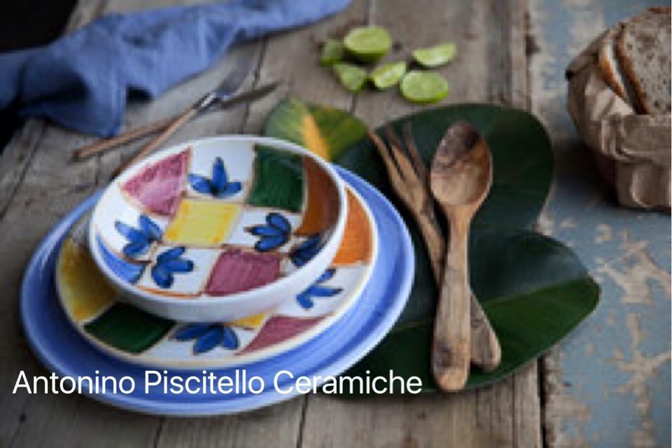 Servizio mondrian piscitello ceramiche italiane ceramiche